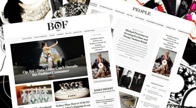 The Business of Fashion открывает офис в Украине